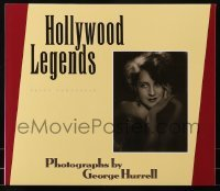 4j021 HOLLYWOOD LEGENDS PRINT PORTFOLIO 13x15 print portfolio 1991 photographs by George Hurrell!