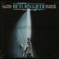 4j016 RETURN OF THE JEDI 13x13 album flat 1983 from the original motion picture soundtrack album!