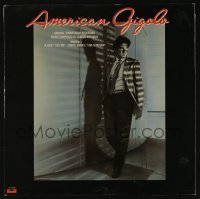 4j006 AMERICAN GIGOLO soundtrack record 1980 original music from Richard Gere/Paul Schrader movie!