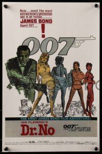 4j010 JAMES BOND set of 14 mini posters 1987 movie poster art from the first fourteen 007 movies!