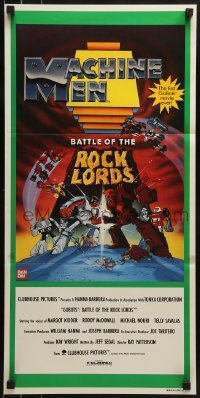 4k786 GOBOTS: WAR OF THE ROCK LORDS Aust daybill 1986 the first GoBots movie ever, cool cartoon!