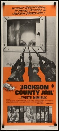 4k814 JACKSON COUNTY JAIL Aust daybill 1976 what they did to Yvette Mimieux in jail is a crime!
