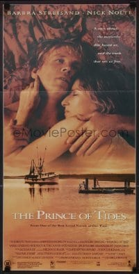 4k888 PRINCE OF TIDES Aust daybill 1991 star/director Barbra Streisand, Nick Nolte!