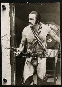 4k010 ZARDOZ 9 German 7 x 9.5 stills 1974 Sean Connery, who has seen the future and it doesn't work!