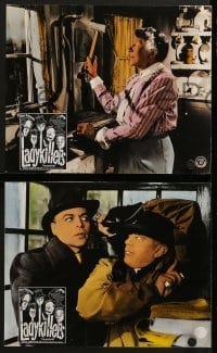 4k031 LADYKILLERS 10 Swiss LCs 1960s Alec Guinness & gangsters + Katie Johnson, Ealing classic!
