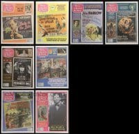 4m236 LOT OF 8 MOVIE COLLECTOR'S WORLD MAGAZINES 2012 ads of vintage movie posters for sale!