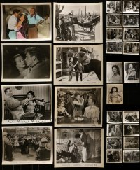 4m314 LOT OF 27 YVONNE DE CARLO 8X10 STILLS 1940s-1960s great scenes from some of her movies!