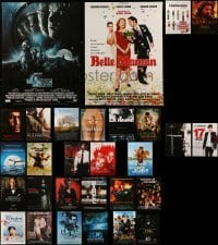 4m008 LOT OF 29 FORMERLY FOLDED FRENCH POSTERS 1980s-2010s a variety of cool movie images!
