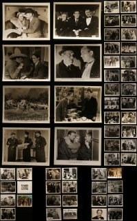 4m289 LOT OF 55 1930S 8X10 STILLS 1930s great scenes from a variety of different movies!