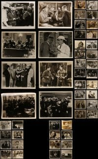 4m295 LOT OF 48 1930S 8X10 STILLS 1930s great scenes from a variety of different movies!