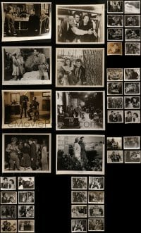 4m296 LOT OF 44 8X10 STILLS 1950s-1960s great scenes from a variety of different movies!