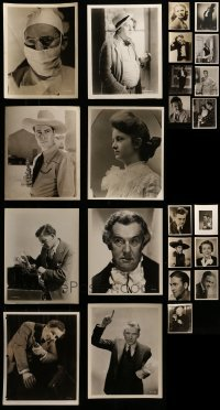 4m317 LOT OF 23 1930S PORTRAIT 8X10 STILLS 1930s great images of a variety of different stars!