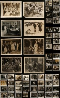 4m283 LOT OF 70 8X10 STILLS FROM SILENT MOVIES 1920s great scenes from a variety of movies!