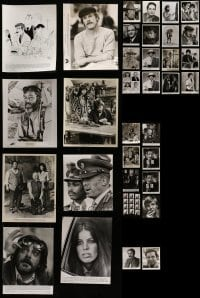 4m302 LOT OF 34 1970S 8X10 STILLS 1970s great scenes from a variety of different movies!