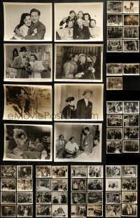 4m284 LOT OF 67 8X10 STILLS 1930s-1940s great scenes from a variety of different movies!