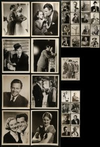 4m304 LOT OF 33 8X10 STILLS 1930s-1940s great portraits from a variety of different movies!