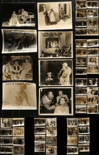 4m288 LOT OF 56 8X10 STILLS 1940s-1950s great scenes from a variety of different movies!