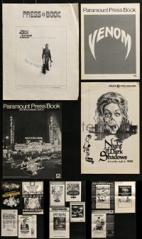 4m205 LOT OF 15 UNCUT PRESSBOOKS 1950s-1970s advertising for a variety of different movies!