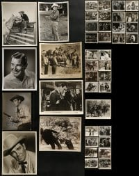 4m300 LOT OF 41 ROD CAMERON 8X10 STILLS 1940s-1950s great scenes from several of his movies!