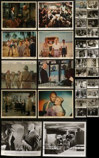 4m301 LOT OF 34 YUL BRYNNER 8X10 STILLS 1950s-1960s great scenes from several of his movies!