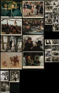 4m315 LOT OF 27 CHARLES BRONSON 8X10 STILLS 1950s-1970s great scenes from several of his movies!