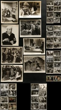 4m293 LOT OF 50 EDGAR BUCHANAN 8X10 STILLS 1940s-1960s great scenes from several of his movies!