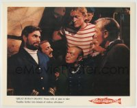 4p002 20,000 LEAGUES UNDER THE SEA color LC R1971 Kirk Douglas, Peter Lorre, James Mason, Jules Verne