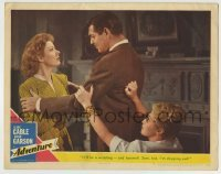4p012 ADVENTURE LC #7 1945 Clark Gable says goodbye to Greer Garson & Joan Blondell!