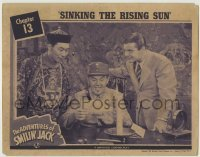 4p021 ADVENTURES OF SMILIN' JACK chapter 13 LC 1942 Tom Brown, Sidney Toler, Sinking the Rising Sun!