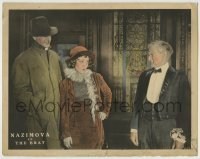 4p115 BRAT LC 1919 The Incomparable Nazimova teaches a lesson to a rich snobby family!