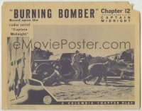 4p137 CAPTAIN MIDNIGHT chapter 12 LC 1942 Columbia serial from the radio serial, Burning Bomber!