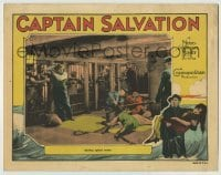 4p138 CAPTAIN SALVATION LC 1927 Lars Hanson watches mutiny take place inside the ship!