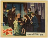 4p203 DAMAGED LIVES LC 1937 Edgar Ulmer VD classic, dad keeps infected young couple from young boy!