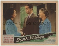 4p212 DARK WATERS LC 1944 close up of Franchot Tone between Merle Oberon & smiling Fay Bainter!