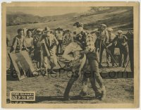 4p217 DAZE OF THE WEST LC 1927 cowboy Fred Gilman & Elaine Forrest, directed by William Wyler!