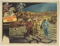 4p235 DESTINATION MOON LC 1950 Robert A. Heinlein, astronauts Powers, Anderson, Archer & Wesson!