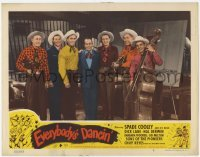 4p296 EVERYBODY'S DANCIN' LC #2 1950 great portrait of Spade Cooley and His Band smiling!