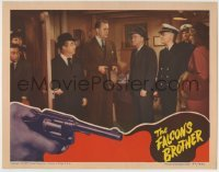 4p300 FALCON'S BROTHER LC 1942 George Sanders before he turns over his job to brother Tom Conway!