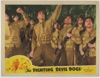 4p304 FIGHTING DEVIL DOGS LC 1944 Bruce Bennett when he was Herman Brix, adapted from 1938 serial!