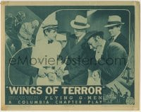 4p317 FLYING G-MEN chapter 9 LC 1939 Columbia serial, government agent Robert Paige, Wings of Terror!