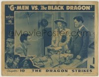 4p361 G-MEN VS. THE BLACK DRAGON chapter 10 LC 1943 Rod Cameron, The Dragon Strikes, serial!