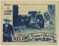 4p366 GORDON OF GHOST CITY chapter 1 LC 1933 cowboy Buck Jones western serial, A Lone Hand!