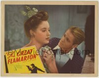 4p374 GREAT FLAMARION LC 1945 close up of Dan Duryea & pretty Mary Beth Hughes, Anthony Mann!