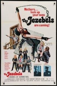 4s900 SWITCHBLADE SISTERS 1sh 1975 classic wildest girl gang artwork image, The Jezebels!
