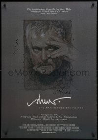 4t027 DREW: THE MAN BEHIND THE POSTER signed 27x39 1sh 2013 by artist Drew Struzan, self-portrait!