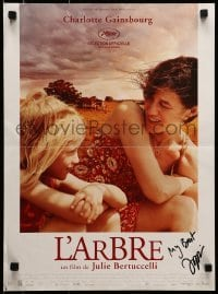 4t011 TREE signed French 16x21 2010 by director Julie Bertuccelli!