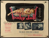 4t007 BABY DOLL signed 1/2sh 1957 by Carroll Baker, classic image, directed by Elia Kazan!
