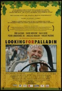 4t033 LOOKING FOR PALLADIN signed DS 1sh 2008 by BOTH director Andrzej Krakowski AND Ben Gazzara!