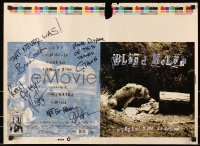 4t012 BLIND MELON signed printer's test 19x26 music poster 1991 by 4 members, never released album!