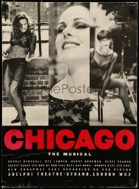 4t064 CHICAGO signed stage play English WC 1997 by Ruthie Henshall!